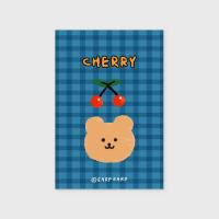 Cherry bear-blue(엽서)