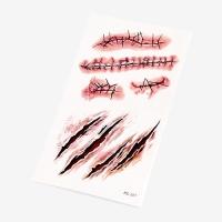 [인디고샵] 찢어진 상처 타투