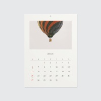 2019 calendar - The moment of light and color