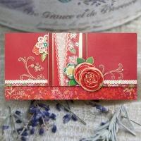 자수 꽃 용돈봉투 FB1013-5