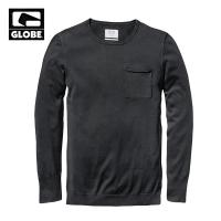 [GLOBE] GOODSTOCK CREW SWEATER (BLACK)