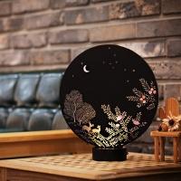달빛 이야기 무드등 (블랙 라지)