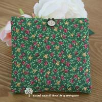 [바느질시간]mini rose 생리대파우치-그린