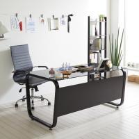 스틸뷰 1500 책상+의자세트 테이블