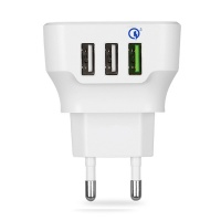 엑토 QC 3.0 가정용 3포트 고속 충전기 MTA-04