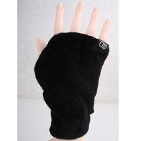 빠띠라인 겨울 손등장갑 블랙