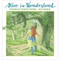 2019 캘린더 Alice in Wonderland