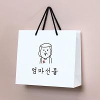 엄마아빠 선물 쇼핑백 M