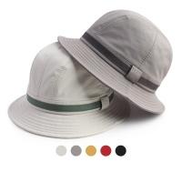 [디꾸보]썸머 아웃도어 띠 라인 벙거지 모자 HN637