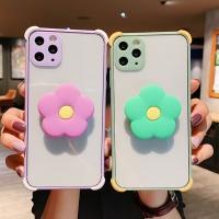 아이폰se2 8 7플러스/카메라보호 플라워 그립톡케이스