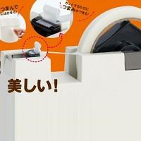 [KOKUYO] 명품을 포장할 때..끝이 접히는 신개념  테이프 커터기-일본 고쿠요 Tumam de Hal HB602-1