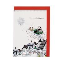크리스마스카드/성탄절/트리/산타 선물을주세요 (FS156-3)