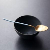 [케라미카] 골드 티타늄 커트러리 디저트스푼