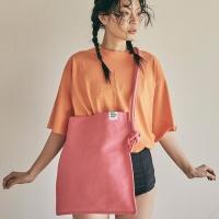 Rope shoulder eco bag_pink