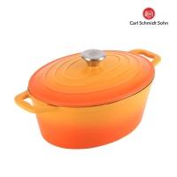 [칼슈미트] 잔텐 주물냄비 36cm 오렌지