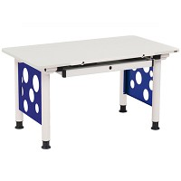 [까쁘레띠]오르그(orgoo)오르그 블루 기본형 책상