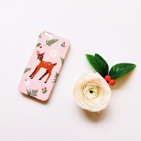 Oh My Bambi Pink for Phonecase [플래네틸]