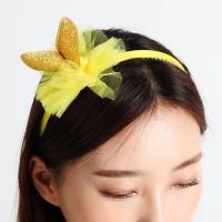 큐티 바니 머리띠 [골드]