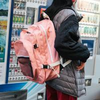 [로아드로아]ROIDESROIS - OH OOPS BACKPACK (PINK) 백팩 신학기가방 오웁스백팩 망사백팩 메쉬백팩