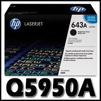 HP 정품 Q5950A (643A) Q5950 5950A 5950 CLJ 4700