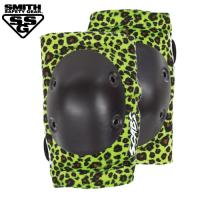 [SMITH] SCABS ELITE LEOPARD ELBOW PADS (Green/Black)