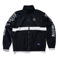 [비에스래빗] Crush track jacket_Black