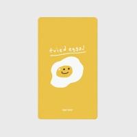 [어프어프] 보조배터리 Fried eggs-yellow