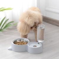 [봉봉펫닷컴] 고양이 강아지 이중 급식기 급수기