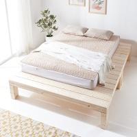 원목 넓은 침대받침대 평상 침실인테리어 대형