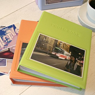 Color photo book(4×6)_white 포켓식