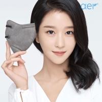 [아에르] 어드밴스드 KF94 마스크 그레이 10매