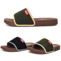 [애슬릿]발 편한 폴리 여름 남성 슬리퍼 3cm