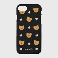 Dot love and bear-black(color jelly)
