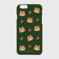 Squirrel Acorns-green