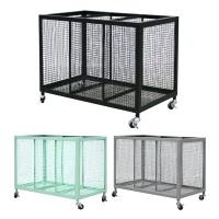[Idesign]FRIDA Storage unit Black 3칸 수납스토리지