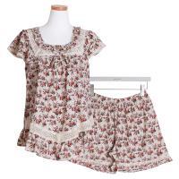 [쿠비카]순면 투피스 민소매 3부팬츠 여성잠옷 W490