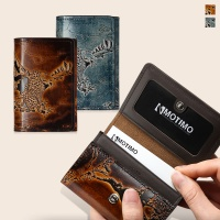[여성카드.명함지갑]보노(이글)천연가죽 카드지갑
