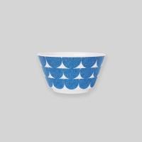 Ocean blue wave bowl S