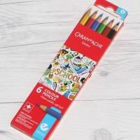 까렌다쉬 스쿨라인 수채색연필 6색 지관 1290.706