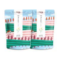 차예마을 보틀티 더채운 캐모마일 삼각티백 44g x 2팩