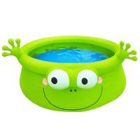 [무료배송][WORLD]신나는 물놀이-개구리 풀장
