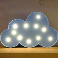 LED 앵두전구 조명등 (구름 블루)