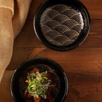 일본식기 블랙펄 비빔기 23cm