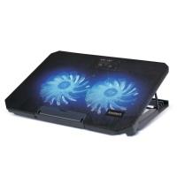 위즈플랫 노트북 쿨러 스탠드 NCP-200C (2개 140mm LED팬 / 메탈메쉬 쿨링패드)