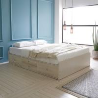 보루네오하우스 엘리브 노보 모션베드 큐브형 퀸 침대풀세트 ha145