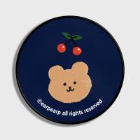 Dot cherry bear-navy(스마트톡)