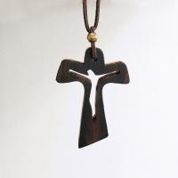 차량용 원목 십자가