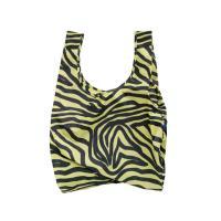 [바쿠백] 휴대용 장바구니 시장가방 Olive Zebra