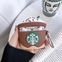 에어팟프로 별다방 실리콘 케이스 키링 3_커피 pro486