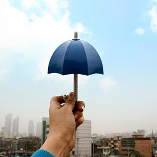 미니 우산 라디오 - 클래식 네이비